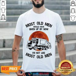 Top Moon Blood Most Old Men Waste Collector 5 Shirt