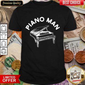 Awesome Piano Man Shirt
