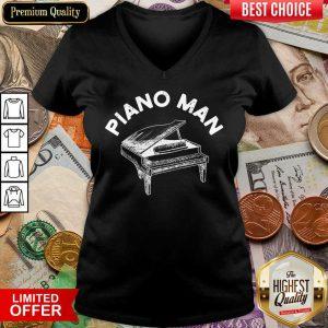 Awesome Piano Man V-neck