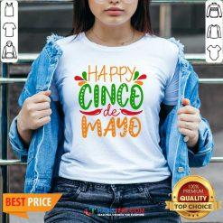 Nice Happy Cinco De Mayo V-neck