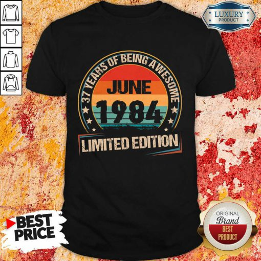 Top June 1984 Limited Edition Shirt